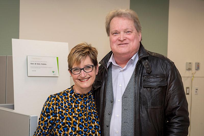 Eagle Ridge Hospital Foundation gratefully acknowledges Glen & Kelly Hobbis